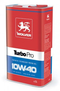Масло моторное Wolver Turbo Pro SAE 10W-40 (Канистра 5л) Made in Germany фото, цена