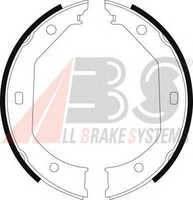 Колодки тормозные барабанные BMW (БМВ) 535I задние (пр-во ABS) фото, цена