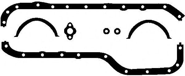 ford ohc - комплект прокладок двигателя 2.0