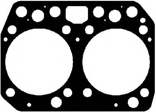 Прокладка головки блока цилиндра MAN (Ман) D0824/D0826 (2CYL) (пр-во Elring) фото, цена