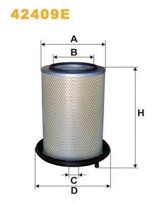 Фильтр воздушный (пр-во WIX-Filtron) 42409E/AM449 фото, цена