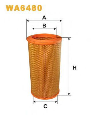 Фильтр воздушный RENAULT (РЕНО) (пр-во WIX-Filtron) WA6480/AR305 фото, цена
