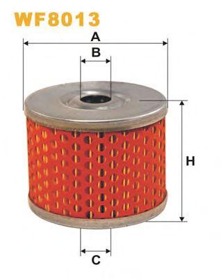 Фильтр топливный CITROEN (СИТРОЕН) (пр-во Wix-Filtron) WF8013/PM815, WA6242/AP076 фото, цена
