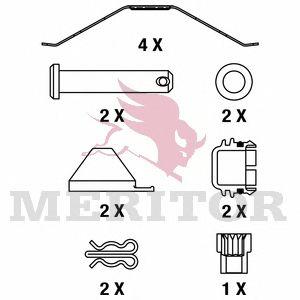 Колодки тормозные дисковые (комплект на ось) BPW, DAF (ДАФ)95, IVECO, MERCEDES-BENZ, SAF, SCANIA (СК фото, цена