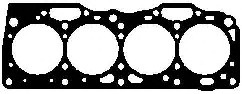 Прокладка головки блока FIAT (ФИАТ) 1.6 88- (пр-во Elring) фото, цена