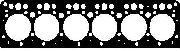 Прокладка головки блока цилиндра MERCEDES-BENZ (МЕРСЕДЕС-БЕНЦ) OM352/OM366 (пр-во Elring) фото, цена