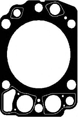 Прокладка головки блока MAN (Ман) D2876 LF12/13,LOH20 (пр-во Elring) фото, цена