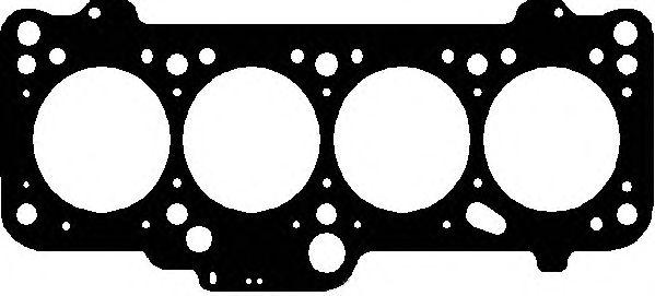 Прокладка головки блока AUDI/VOLKSWAGEN 1.9D/TD 1Y/AAZ/1X/ABL MLS 2! 1.57MM (пр-во Elring) фото, цена