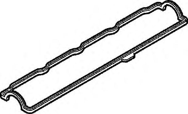 Прокладка клапанной крышки RENAULT (РЕНО) F2N/F3N/F8M/F8Q (пр-во Elring) фото, цена