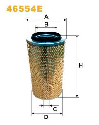 Фильтр воздушный MERCEDES-BENZ (МЕРСЕДЕС-БЕНЦ) (TRUCK) 46554E/AM420 (пр-во WIX-Filtron) PROMO АКЦИЯ фото, цена