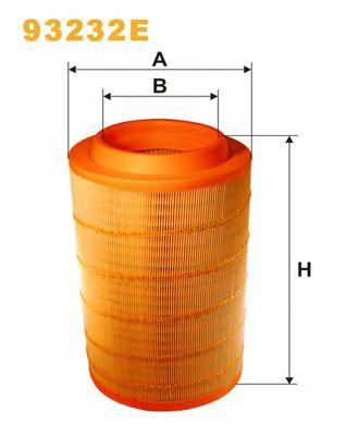 Фильтр воздушный (пр-во WIX-Filtron) 93232E/455/3 фото, цена