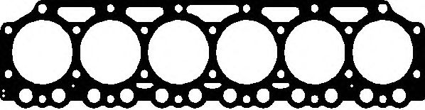 Прокладка головки блока цилиндра DEUTZ BF6M1013 2 1.5MM (пр-во Elring) фото, цена