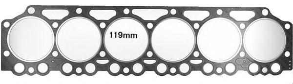 Прокладка головки блока цилиндра DEUTZ BF6M1013 3 1.7MM (пр-во Victor-Reinz) фото, цена