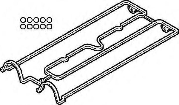 Прокладки клапанной крышки (комплект) OPEL (ОПЕЛЬ) X20XEV/Y22SE (пр-во Elring) фото, цена