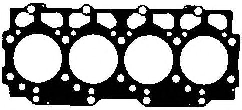 Прокладка головки блока ALFA/FORD (ФОРД) SCC/VM 2.5TD VM25 1! 1.62MM (4CYL) (пр-во Elring) фото, цена