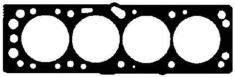 Прокладка головки блока OPEL (ОПЕЛЬ) 1.6 16V X16XEL (пр-во Elring) фото, цена