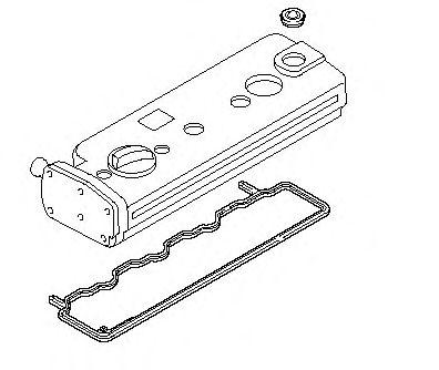 Прокладка клапанной крышки (комплект) MERCEDES-BENZ (МЕРСЕДЕС-БЕНЦ) Atego OM904 (алюмин.крышка) (пр- фото, цена