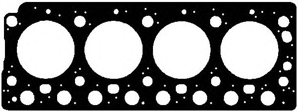Прокладка головки блоку MERCEDES-BENZ (МЕРСЕДЕС-БЕНЦ) OM904/907 (904 016 10 20) (пр-во Elring) фото, цена