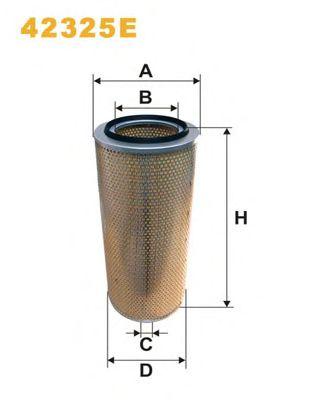 Фильтр воздушный (пр-во WIX-Filtron) 42325E/408 фото, цена