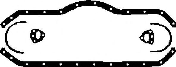 Прокладка поддона картера MERCEDES-BENZ (МЕРСЕДЕС-БЕНЦ) OM366 (ПРОБКОВАЯ) (пр-во Elring) фото, цена