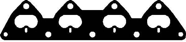 Прокладка коллектора OPEL (ОПЕЛЬ) X14XE/X16XEL (пр-во Elring) фото, цена