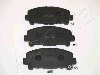 Колодки тормозные дисковый тормоз (пр-во ASHIKA) фото, цена