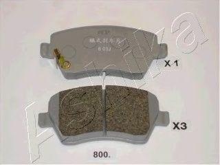 Колодки тормозные SUZUKI (СУЗУКИ) SWIFT (пр-во Ashika) фото, цена