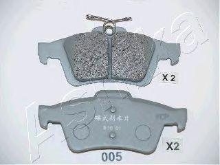 Колодки тормозные MAZDA (МАЗДА) 3 (пр-во Ashika) фото, цена