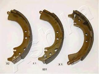 Колодки тормозные барабанные DAIHATSU TERIOS (пр-во ASHIKA) фото, цена