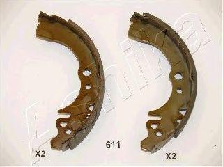 Колодки тормозные барабанные (пр-во ASHIKA) фото, цена