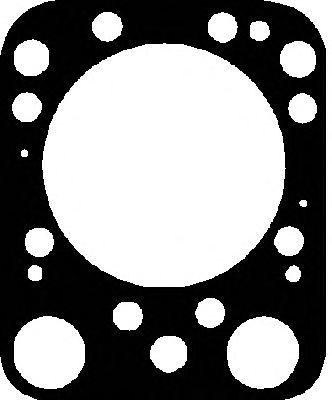 Прокладка головки блока цилиндра SCANIA (СКАНИЯ) DS14/DSC14 (1CYL) (пр-во Elring) фото, цена