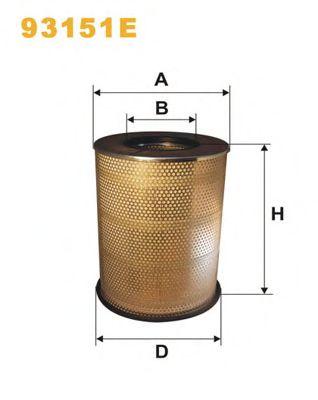 Фильтр воздушный (пр-во WIX-Filtron) AM442/5/93151E фото, цена