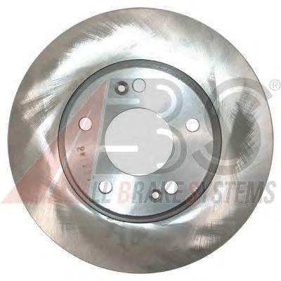 Диск тормозной HYUNDAI/KIA COUPE/TUCSON/CEE'D передний вентилируемый (пр-во ABS) фото, цена