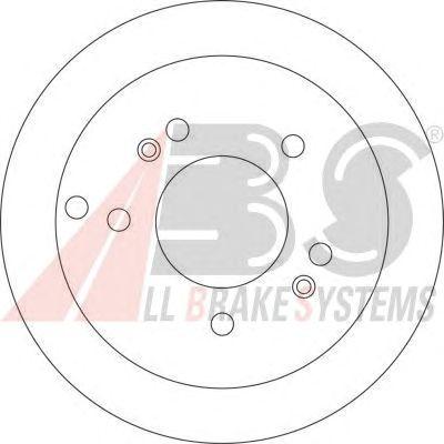 Диск тормозной (пр-во ABS) фото, цена