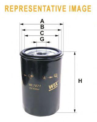 Фильтр масляный OPEL (ОПЕЛЬ) (пр-во WIX-Filtron) WL7087/OP541 фото, цена