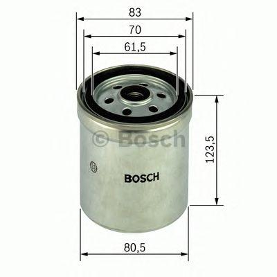Фильтр топливный дизель IVECO, MAN, SCANIA, VOLVO (ВОЛЬВО) (пр-во Bosch) фото, цена