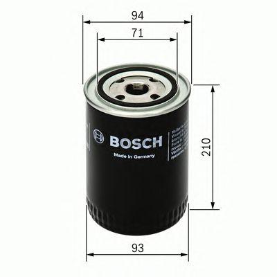 Фильтр масляный (пр-во Bosch) фото, цена
