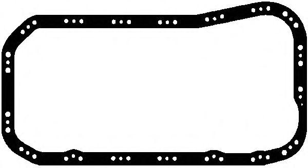 Прокладка поддона FIAT (ФИАТ) 1.7D/1.9D/TD (пр-во Elring) фото, цена