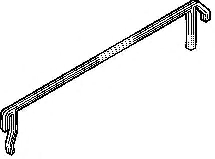 Прокладка клапанной крышки боковая MERCEDES-BENZ (МЕРСЕДЕС-БЕНЦ) OM904/907/924 (пр-во Elring) фото, цена