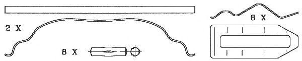 Колодки тормозные дисковые (комплект на ось) RVI Magnum,Premium, VOLVO (ВОЛЬВО) B10/12, ROR (пр-во B фото, цена