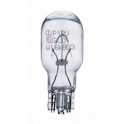 Лампа накаливания W16W12V 16W W 2,1X9,5d(пр-во Philips) фото, цена