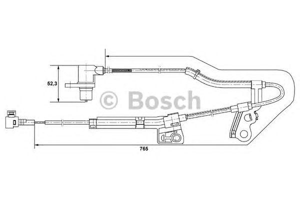 Датчик частоты вращения (пр-во Bosch) фото, цена