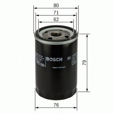 Фильтр масляный  w-v (пр-во Bosch) фото, цена