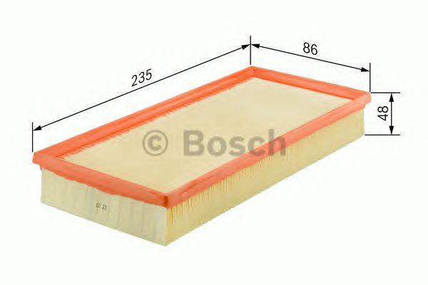 Фильтр воздушный w-v (пр-во Bosch) фото, цена