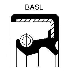 Сальник СТУПИЦЫ FORD (ФОРД) 40X55X8 NBR BASL (пр-во Corteco) фото, цена
