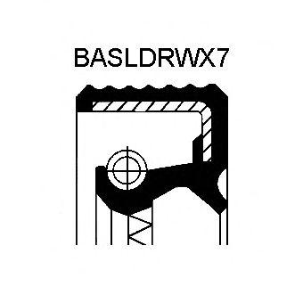 Сальник N BMW (БМВ) M20/M21/M40/M43 38X50X7 FPM BAVISLDRWX7 (пр-во Corteco) фото, цена