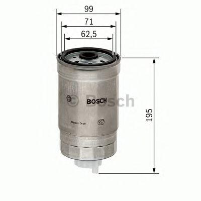 Фильтр топливный диз (пр-во Bosch) фото, цена