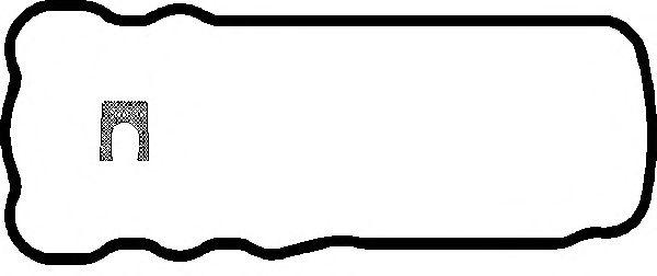 Прокладка поддона MAN (Ман) D2066 (пр-во Elring) фото, цена