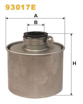 Фильтр воздушный (пр-во WIX-Filtron) 93017E/360 фото, цена