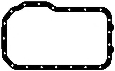 Прокладка поддона RENAULT (РЕНО) F2N/F3N/F3R/F8M/F8Q, VOLVO (ВОЛЬВО) B16F (пр-во Elring) фото, цена